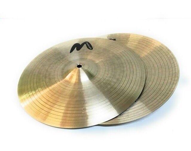 Masterwork Cymbals Jazz Series 13-inch Jazz Master Hi-Hat Medium