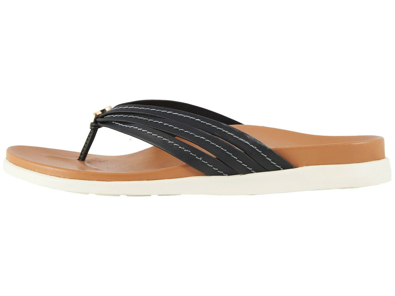 donna Vionic Catalina Flipflop Sandal Palm Catalina nero 100% Authentic Authentic Authentic New cd22fe