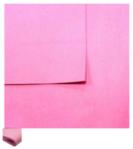 Papel de tejido 10 Hojas Rosa Pretty 510 X 750mm Envoltura De Regalo Cumpleaños Día de San Valentín