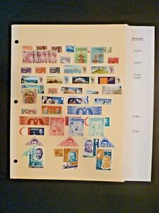 """Worldwide Lot of 53 Stamps in Stock Page - """"J"""" Countries - See Description"""