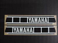 1977-1978 Yamaha Yz 250 Gas Tank Decal Set. Ahrma