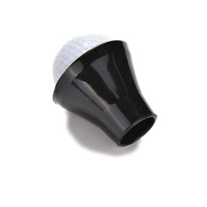 Golf-Ball-Retriever-Putter-Finger-Rubber-Picker-Pick-Up-Suction-Cup-Black-To-RAC