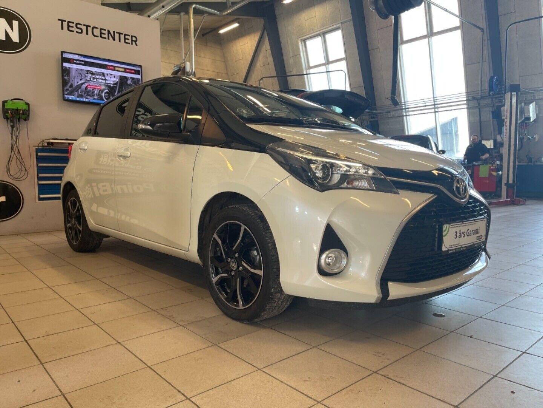 Toyota Yaris 1,3 VVT-i T2 Style 5d - 132.321 kr.