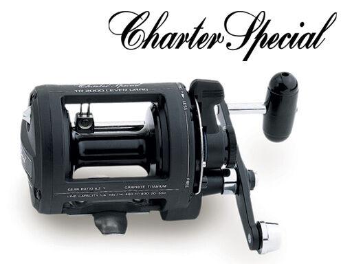 NEW SHIMANO CHARTER TR2000LD SPECIAL TR2000LD CHARTER TROLLING JIGGING REEL LEVER DRAG 1b33e0