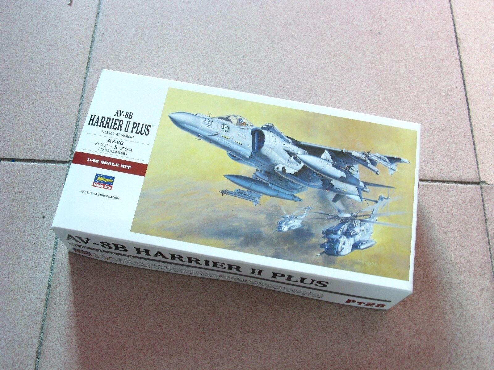 Hasegawa 1 48 AV-8B Harrier II Plus