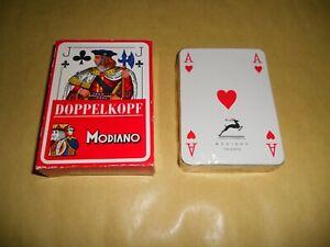 2 Mazzi di Carte Double Poker Deck LUCKY LUKE Made by Modiano nuovo sigillato