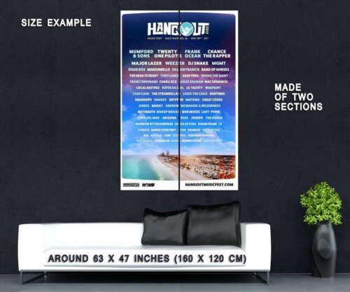 63011 Hangout 2017 Wall Print POSTER CA