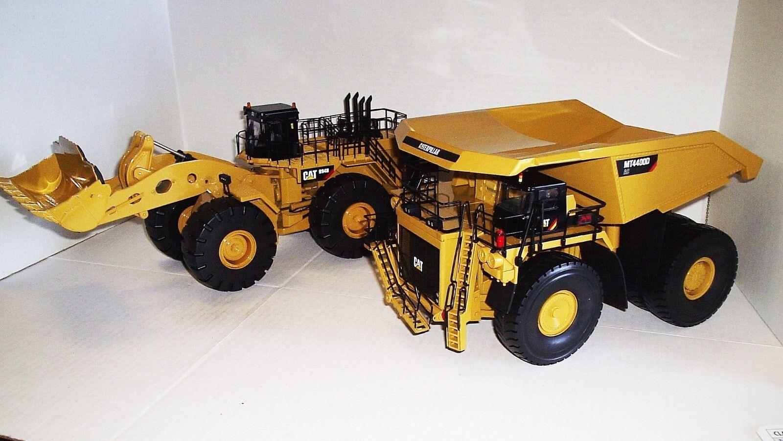 Tonkin Replicas Caterpillar MT4400D y 994H conjunto de cargador de rueda