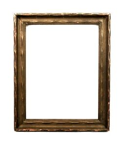 Antique-Art-Nouveau-Ornate-Gold-Gesso-Picture-Frame-Fits-9-034-x-7-034