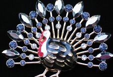 NIB NAPIER FARM HUNTING FALL AUTUMN THANKSGIVING TURKEY BIRD PIN BROOCH JEWELRY