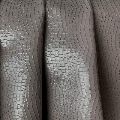 Leder Rindleder braun Kroko marmoriert Lackleder F190432213 versch Gr.