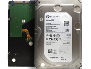 "Seagate Archive v2 ST8000AS0002 8TB 5900RPM 128MB SATA 6.0Gb/s 3.5"" Hard Drive"