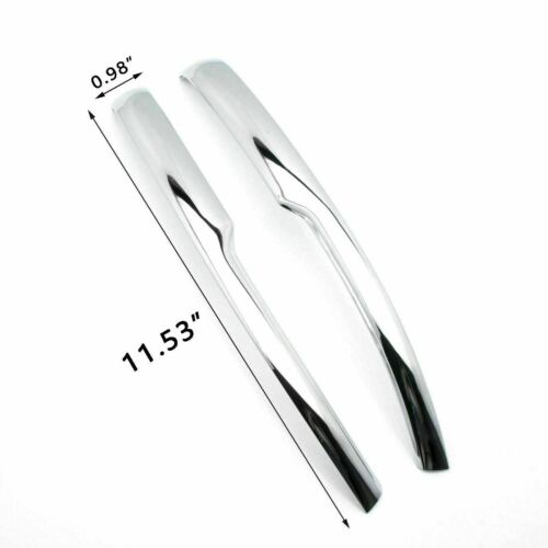 Chrome Side Rearview Mirror Cover Moulding Trim ABS For Honda Accord 2018 2019