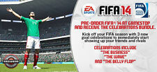 FIFA 14 Celebration: Wave, Business, Belly Flop DLC Pack [PlayStation 3 PS3] NEW