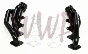 Black-Coated-Performance-Exhaust-Headers-System-05-10-Ford-Mustang-GT-4-6L-V8