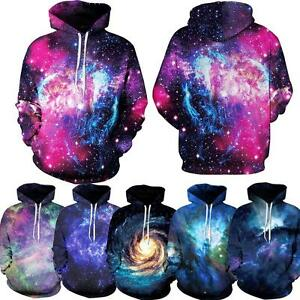 Pink Dope Galaxy Nebula 3d Print Women Men Casual Hoodie ...