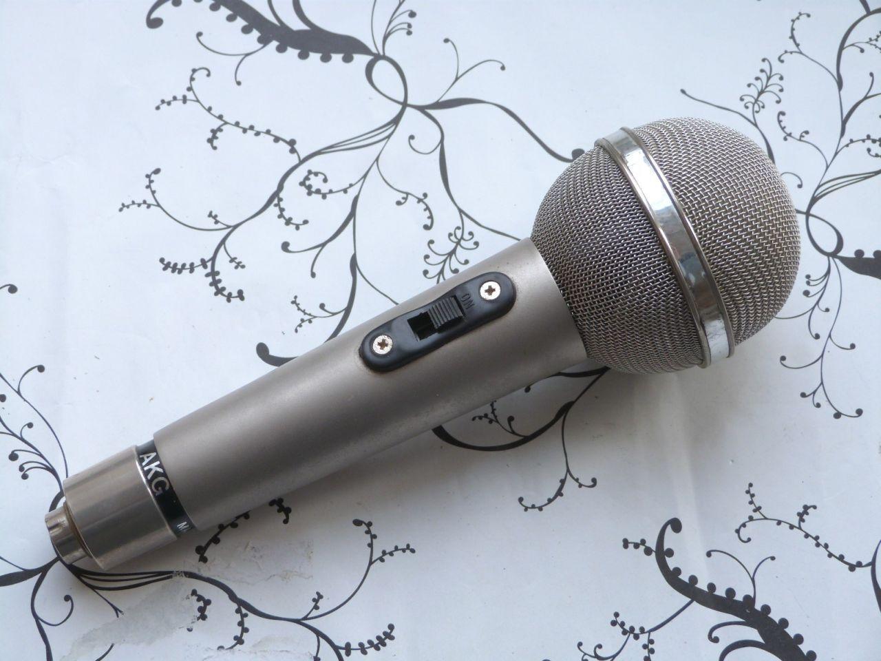 Old AKG  D1201 Dynamic Microphone