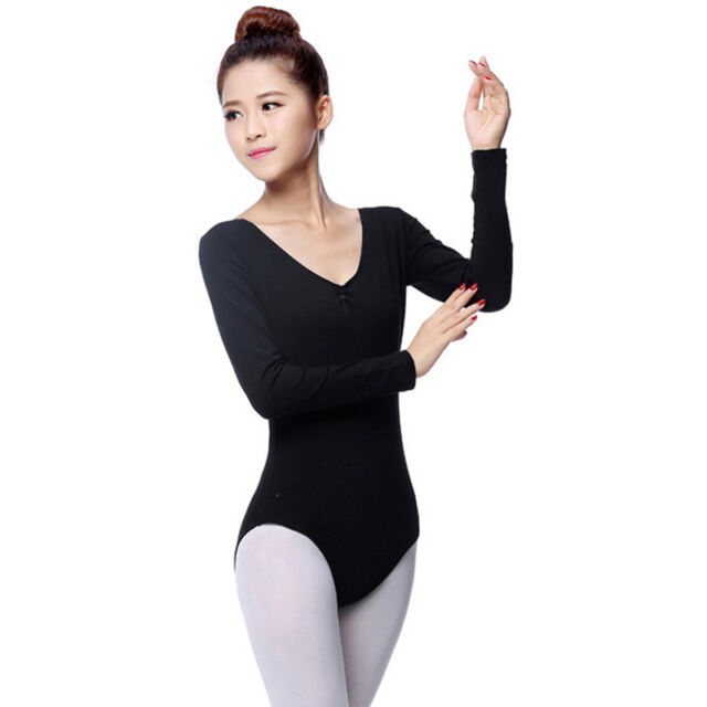 3-11Y Baby Kid Girl Ballet Dance Shiny Tight Bodysuit Unitard Gymnastics Leotard