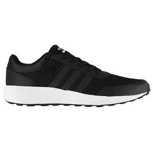 adidas cloudfoam black and white