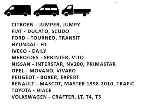 Housse Couverture Couvre Sieges pour Camionnette Van Bus 2 1