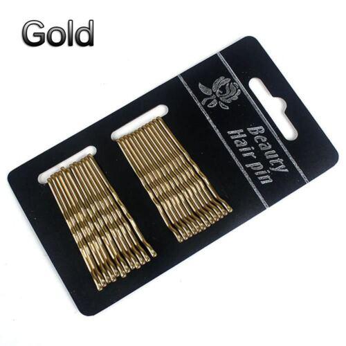 Hair Jewelry Bobby Pin Hairpin Wedding Hair Pin Gold Side Folder Clip Hairpin