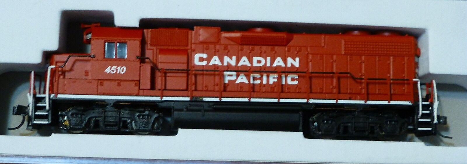 Atlas N   40000606 Emd Gp38-2 w dynamic Frenos-Estándar Dc-Canadian Pacific