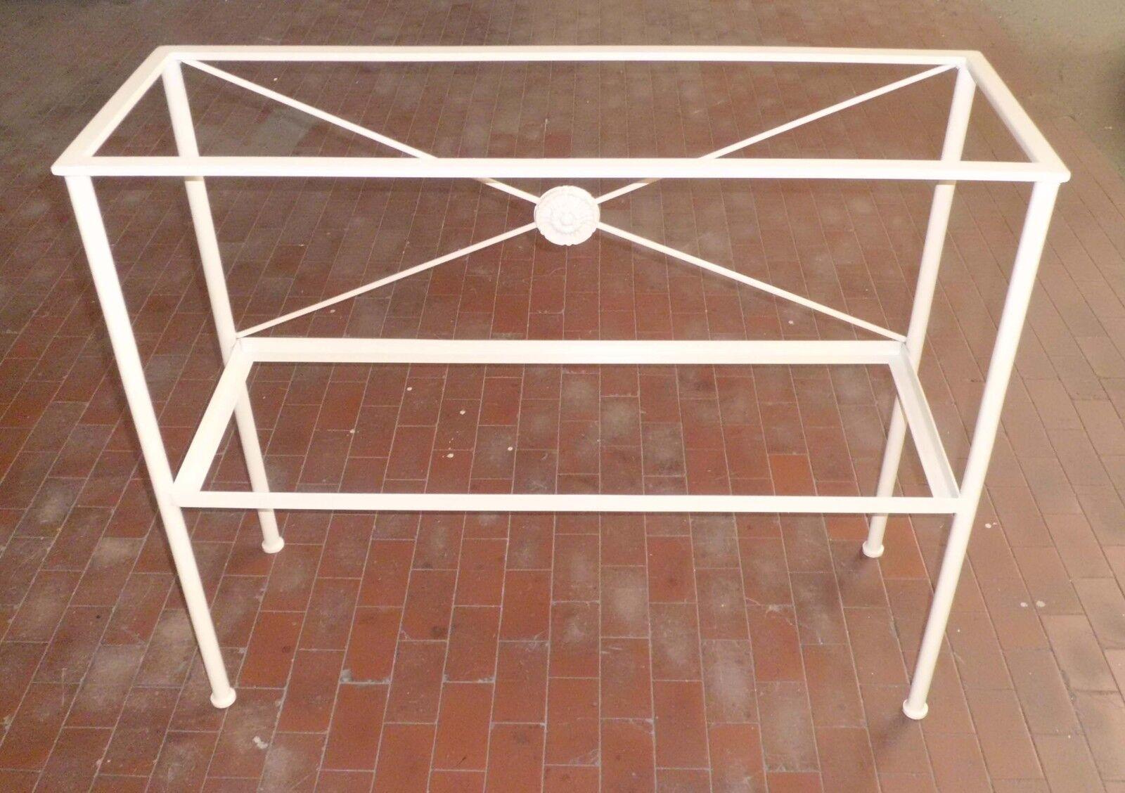 nelle promozioni dello stadio CONSOLLE CONSOLLE CONSOLLE MOBILE in FERRO BATTUTO . Realizzazioni Personalizzate . 326  forma unica