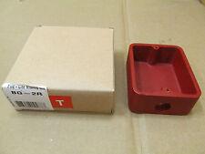 1 Nib Fire Lite Alarm Bg 2r Bg2r Pull Station Back Box Red 6 Available