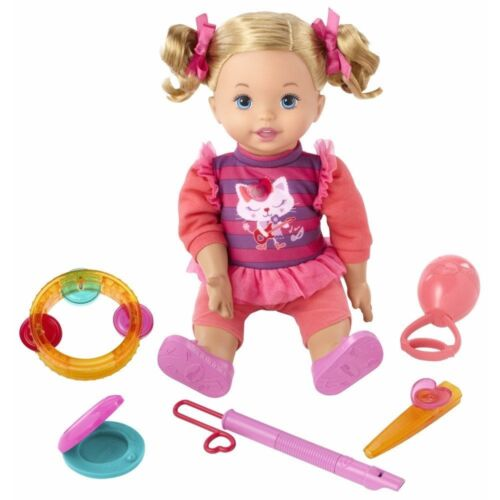 Little Mommy Let's Make Music 95+ Phrases 12 Tunes 14 tall fisher-price New