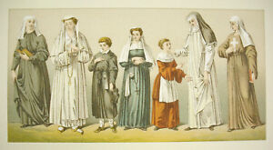 Suits-Traditional-Italy-Italia-Carpenter-Firmin-Didot-c1888-Lithography