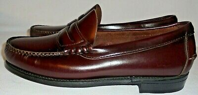 DEXTER, MEN'S (( NEW )) CORDOVAN RED LEATHER PENNY LOAFER ...