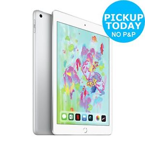 Apple iPad 2018 6th Gen 9.7 Inch LED IOS WiFi 32GB - Silver.