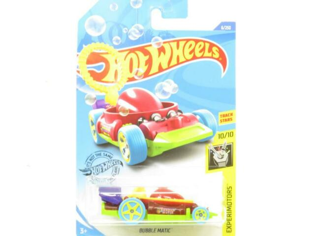 Hot Wheels Bubble Matic Experimotors 6/250 Long Card 1 64 Scale Sealed New