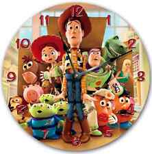 TOY STORY Wall clock Nursery Art Personalized Custom Room Decor 7186_FT