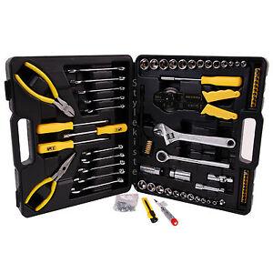 Werkzeugkoffer Werkzeugkasten Werkzeug-Trolley Werkzeug 126 tlg Set Neu