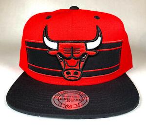 Mitchell and Ness NBA Chicago Bulls Covert Snapback Hat, Cap, New
