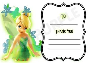 Paw Patrol Skye Frame Design A6 Thank You For Coming Party Cards x 12