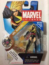 "Marvel Universe 3.75"" MS. MARVEL Series 1 # 022 (Carol Danvers Black Lightening)"