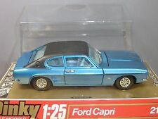 """DINKY TOYS """"LARGE SCALE"""" MODEL No.2162  FORD CAPRI GXL  SALOON       MIB"""