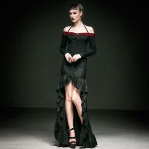 Vixen Overlay low Punk Spanish Crochet Oop Hi Skirt Gothic Rhumba 2xl Black Rave wSq61pF