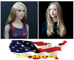 KUMIK 048 Amanda Seyfried 1/6 Head Sculpt for Custom HT Female Body #US seller#