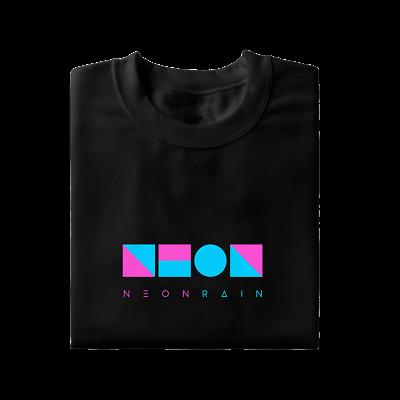 Neon Rain Logo T Shirt Vaporwave Aesthetic Synthwave 80s 90s Instagram Tumblr Ebay