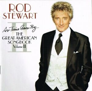 Rod Stewart - As Time Goes By... The Great American Songbook Vol. II (CD, 2003)