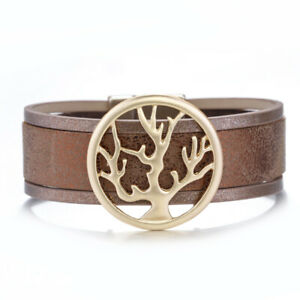 Trendy-Life-of-Tree-Genuine-Leather-Bangle-Wrap-Bracelets-for-women