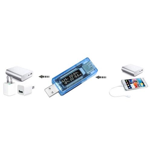 Current Voltage Capacity Tester USB Volt Power Bank Capacity Doctor Meter/_BJ