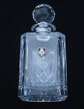 Grenadier Guards  Regiment Cut Crystal Glass Decanter Whiskey Spirit BGK14