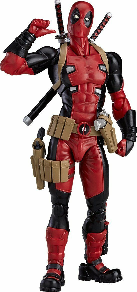 Max Factory figma Deadpool Japan version