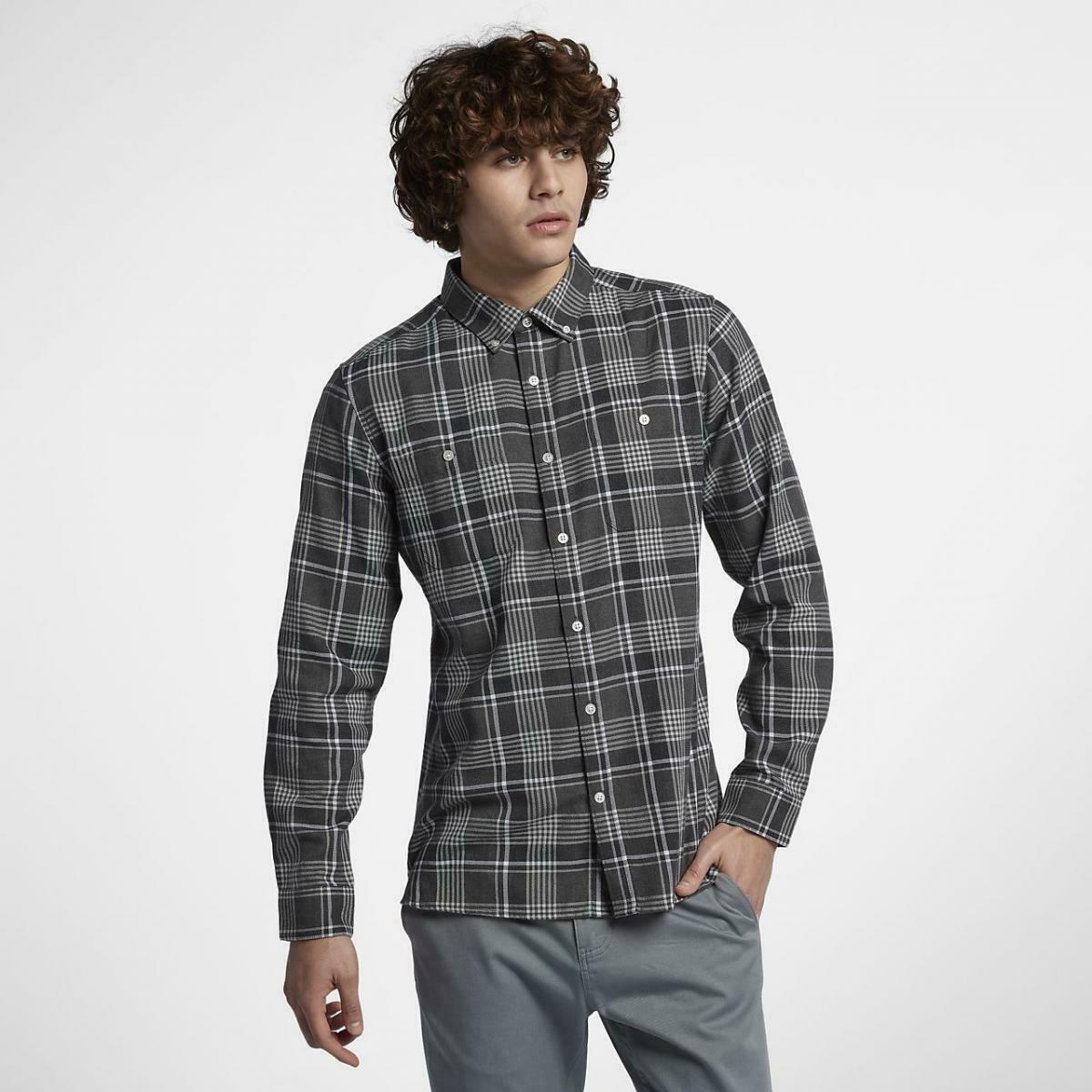 Under Armour 1345989 Men/'s UA Tradesman Flannel 2.0 Long Sleeve Shirt Black