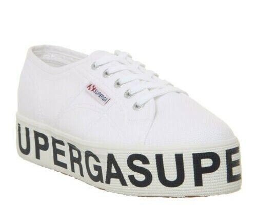 Womens Superga 2790 Trainers White Superga Logo Sneakers