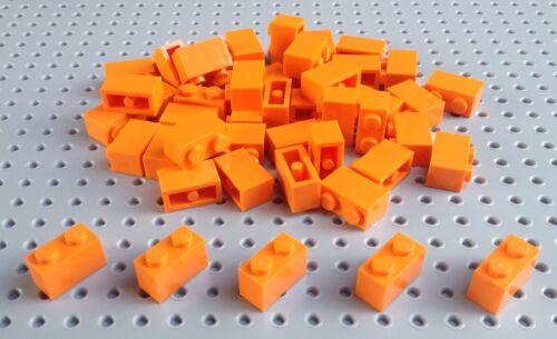 * Nuovo di Zecca CITY STAR WARS CREATOR LEGO Orange Brick 1x2 x25 in un set 3004